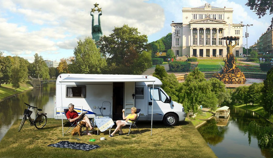 Camping Riga - campgrounds,campsite.